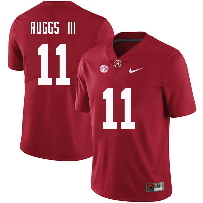 Men #11 Henry Ruggs III Alabama Crimson Tide College Football Jerseys Sale-Crimson