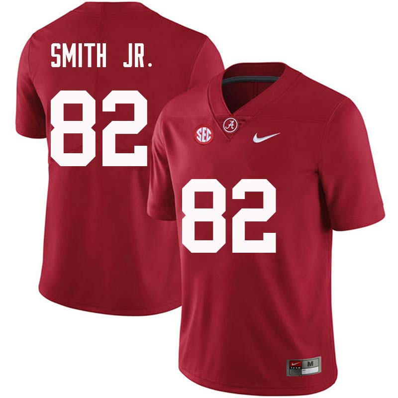 Men #82 Irv Smith Jr. Alabama Crimson Tide College Football Jerseys Sale-Crimson