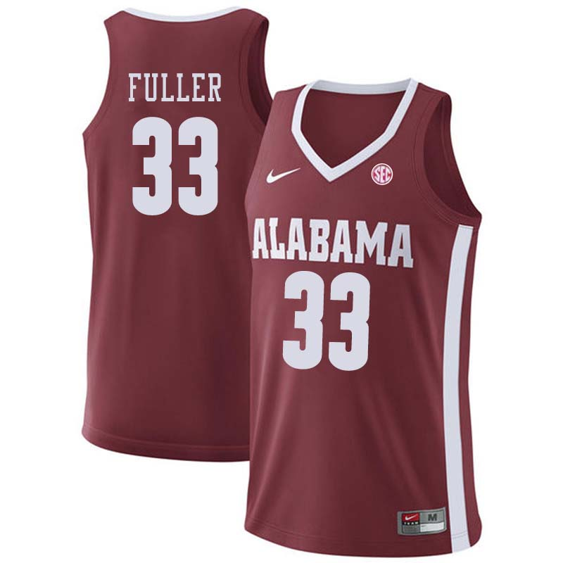 Men #21 Donta Hall Alabama Crimson Tide College Basketball Jerseys Sale-Crimson