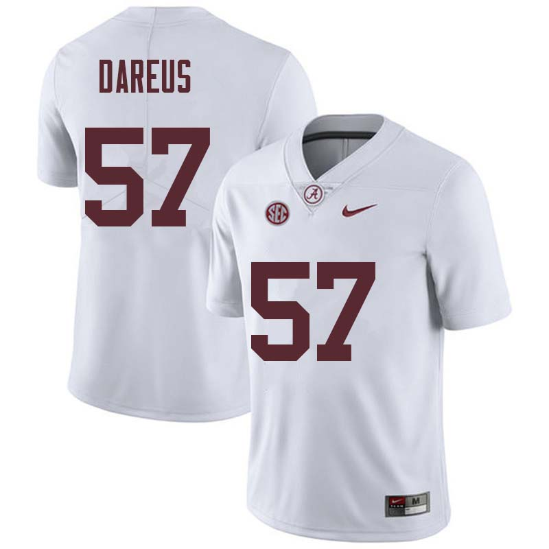 Men #57 Marcell Dareus Alabama Crimson Tide College Football Jerseys Sale-White
