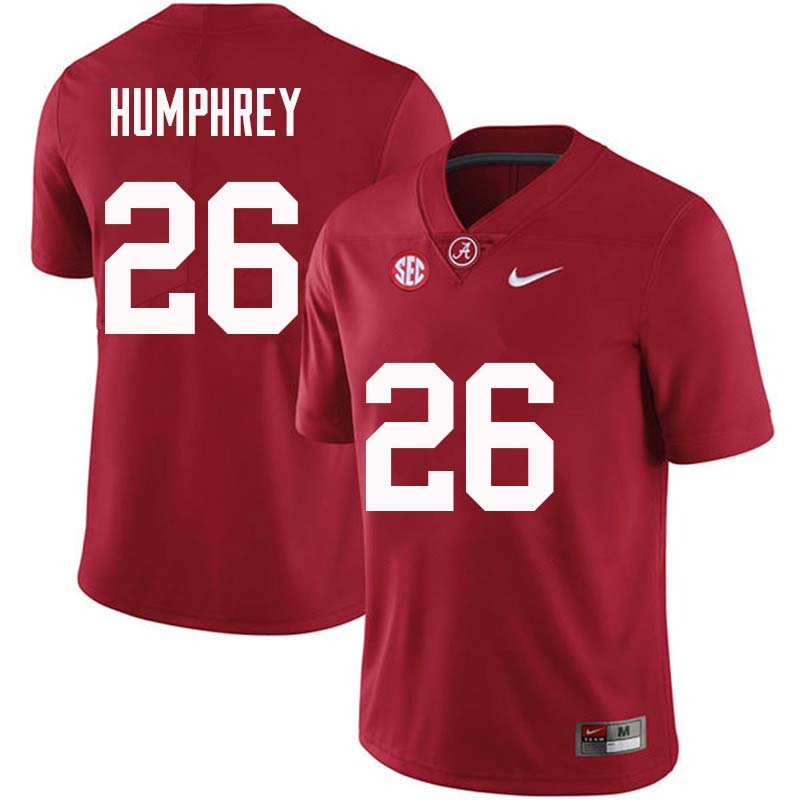 Men #26 Marlon Humphrey Alabama Crimson Tide College Football Jerseys Sale-Crimson