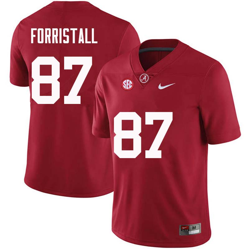 Men #87 Miller Forristall Alabama Crimson Tide College Football Jerseys Sale-Crimson