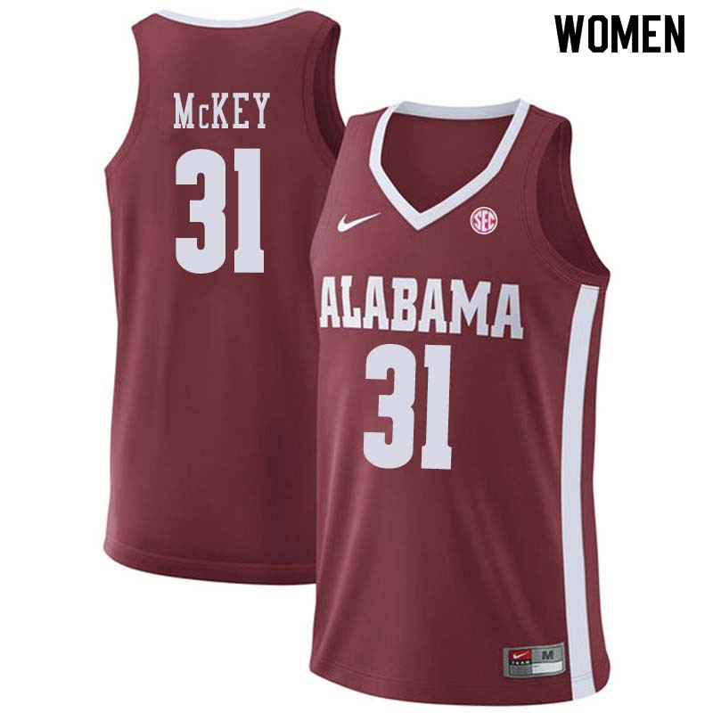 Women #66 Donta Hall Alabama Crimson Tide College Basketball Jerseys Sale-Crimson