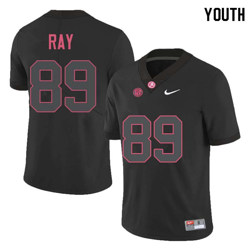 Youth #89 LaBryan Ray Alabama Crimson Tide College Football Jerseys Sale-Black